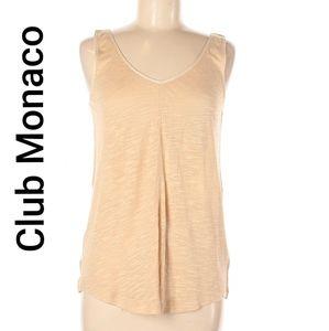 Club Monaco women tank top sleeveless tie back